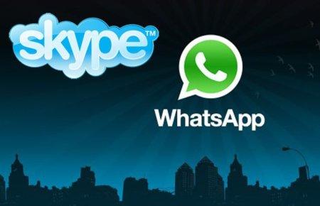 ¿Qué hay de WhatsApp y Skype para Windows Phone 7?