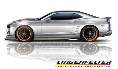 Lingenfelter Chevrolet Camaro Sketches