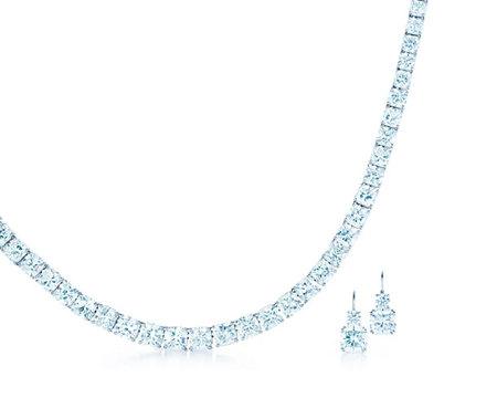 Gargantilla y pendientes Lucida® de Tiffany & Co.