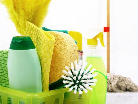 Consejos para guardar productos de limpieza