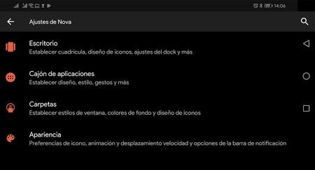 Nova Launcher 6.1.11 añade un modo oscuro aun más oscuro: así se activa