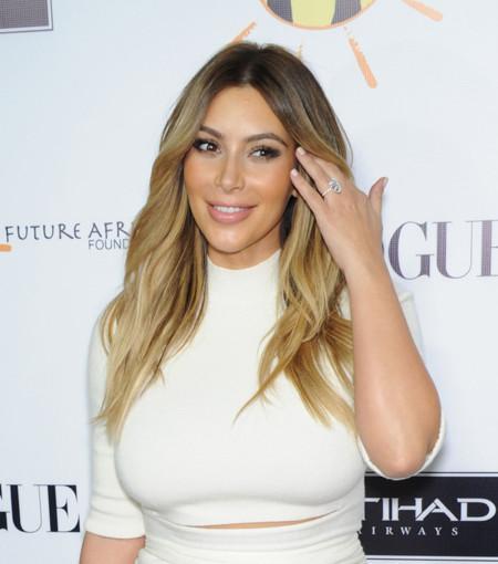 Las curvas de Kim Kardashian ¿eclipsan? a las tops internacionales