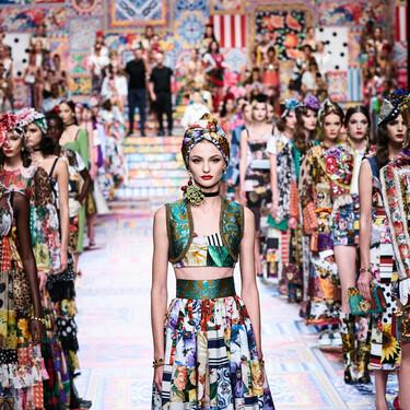 Fendi, Alberta Ferretti, Dolce & Gabbana y Blumarine: lo mejor del primer día de la Semana de la Moda de Milán primavera-verano 2021