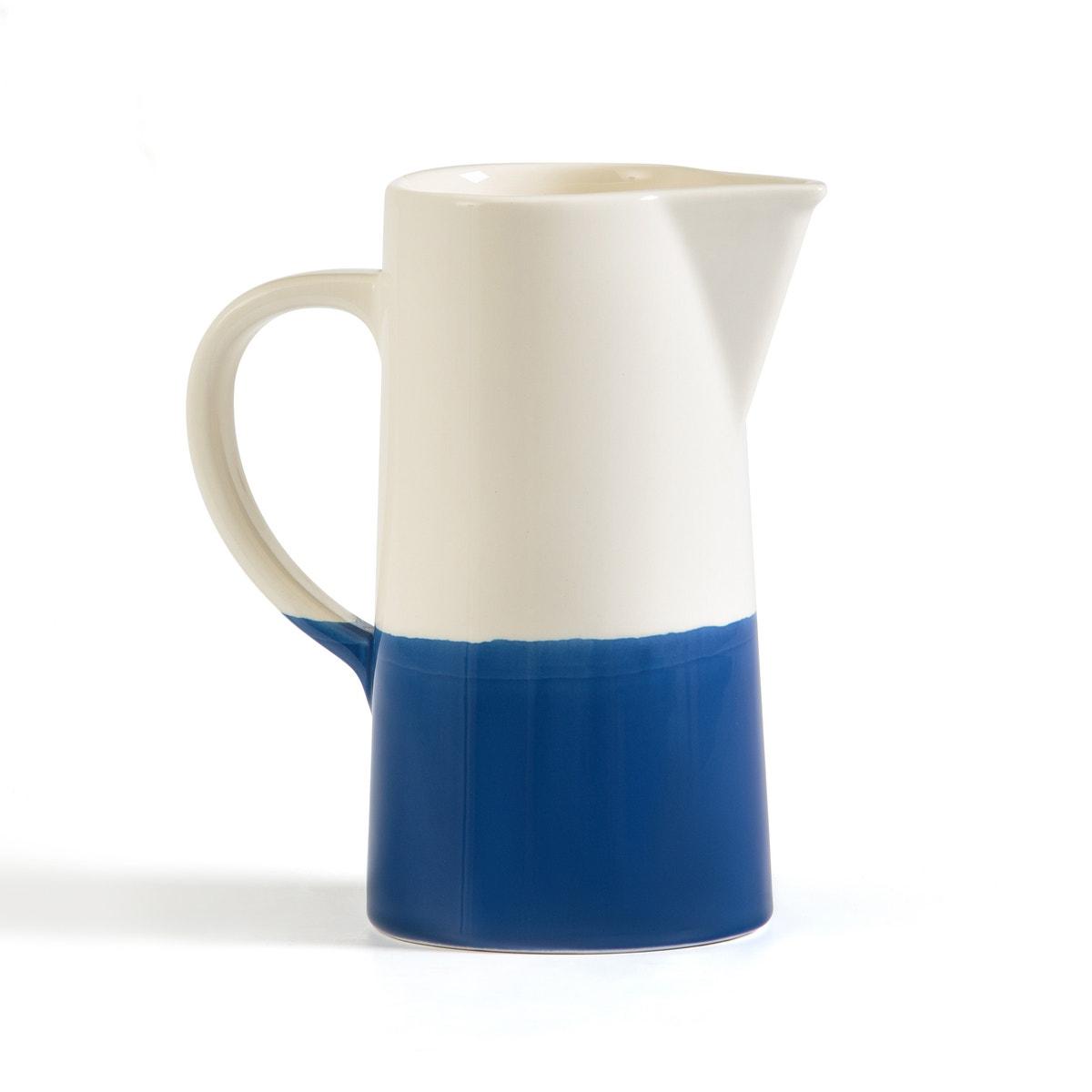 Jarra bicolor de cerámica, Zalato