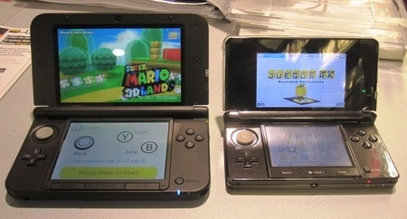 3DS y 3DS XL comparación