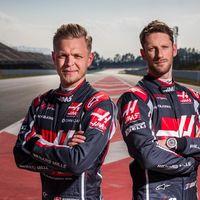 Haas confía en su fórmula de pilotos actual para 2019. Magnussen y Grosjean renuevan
