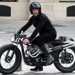 La Triton de Karl Lagarfeld: una moto única que sólo se usó una vez antes de desaparecer