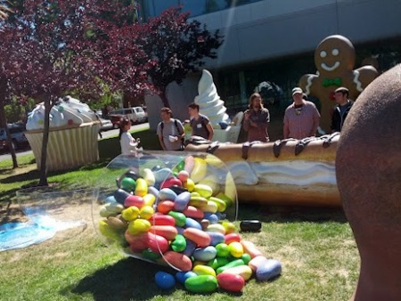 Android jelly bean googleplex