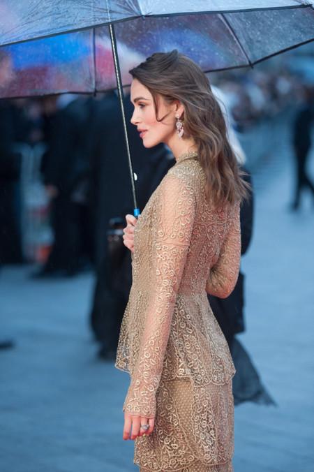 Keira Knightley Valentino Alta Costura espalda