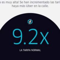 Uber nuevamente en problemas en México por su sistema de tarifa dinámica