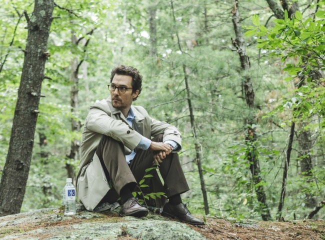 Matthew McConaughey en The Sea Of Trees