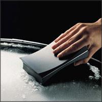 Diseño para quitar el hielo de los parabrisas