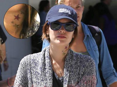 Rachel Bilson y su tatuaje de estrellas en el cuello: ¿atrevimiento o verdad?