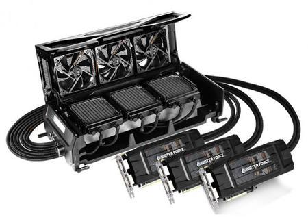 Gigabyte Waterforce Gtx980 Tri Sli Kit Cooling