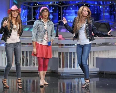 Más looks de Miley Cyrus en su paso por España (El Hormiguero) e Italia