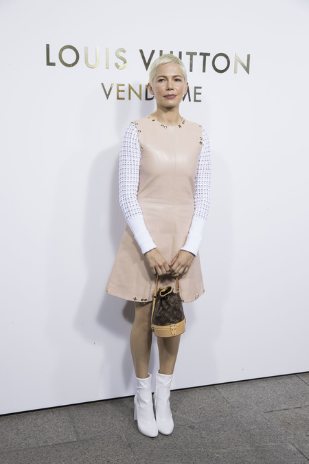 louis vuitton paris celebrities vendome Michelle Williams