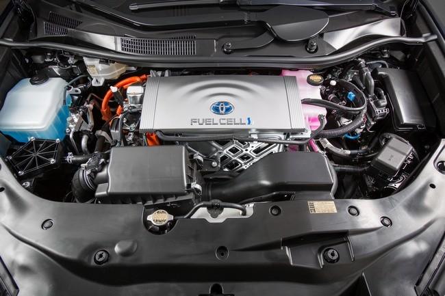 Toyota Mirai Pila Combustible