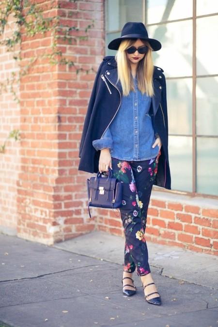 lateafternoonblog look print floral