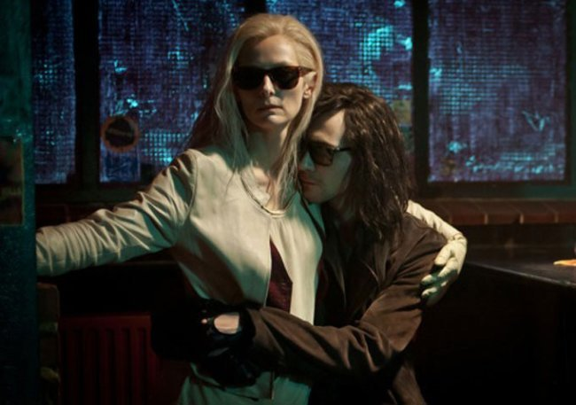 Tilda Swinton y Tom Hiddleston en 'Only Lovers Left Alive'
