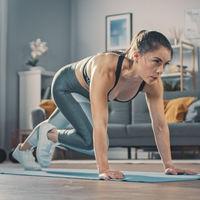 Entrenamiento HIIT rápido en casa: una rutina para entrenar en 10 minutos