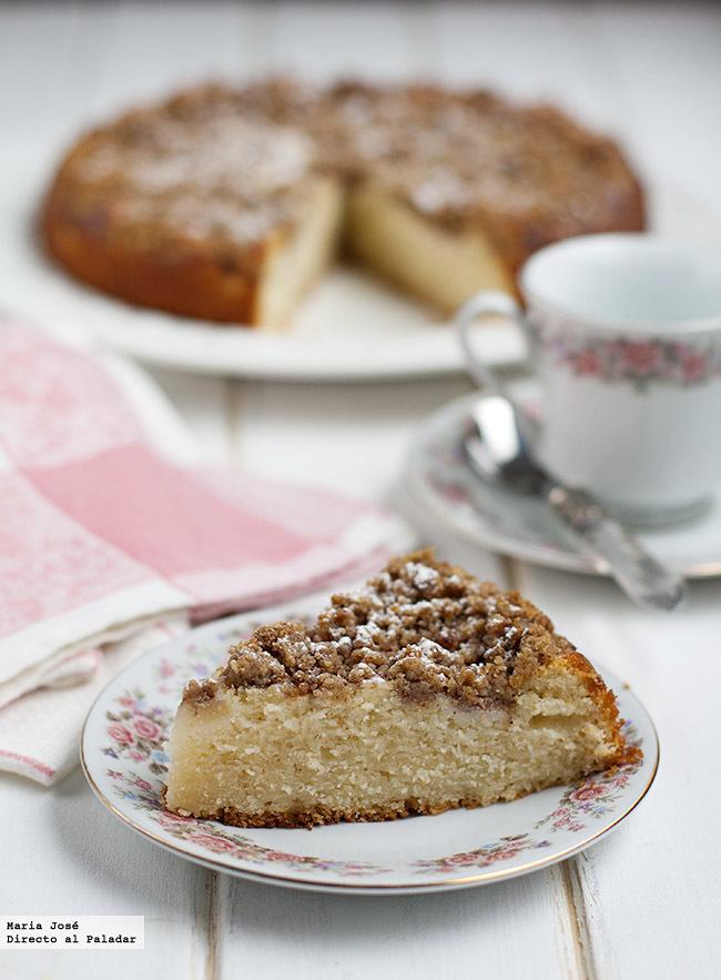 Cake Peras Nueces