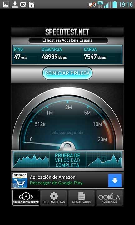 Vodafone 4G descarga