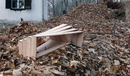 Una buena idea: asientos que se adaptan a la superficie de apoyo