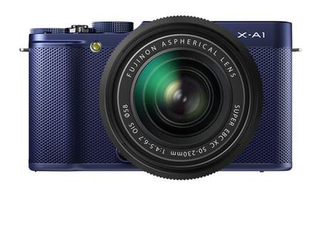 Fujifilm X-A1 blue