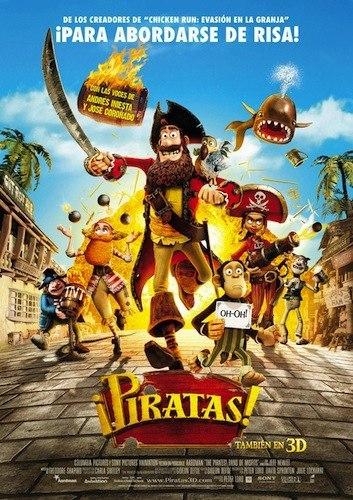 Estrenos de cine infantil: '¡Piratas!'