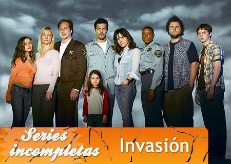 'Invasión', series inacabadas