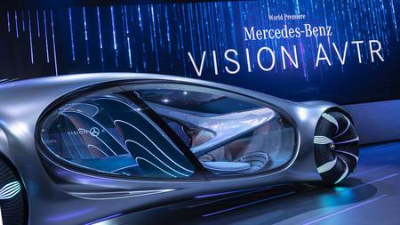 Mercedes Benz Vision Avtr 9