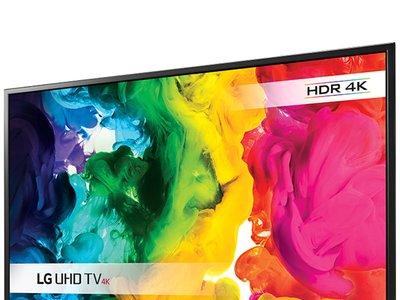 Smart TV de 43 pulgadas y resolución 4K LG 43UH610V por 389 euros