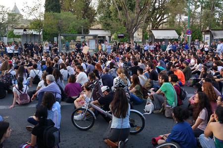 Protestas La Manada Buena