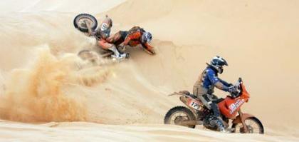 El Dakar 2008, ¡suspendido!