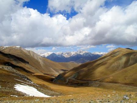 El paso de Irkeshtam entre China y Kirguistán.