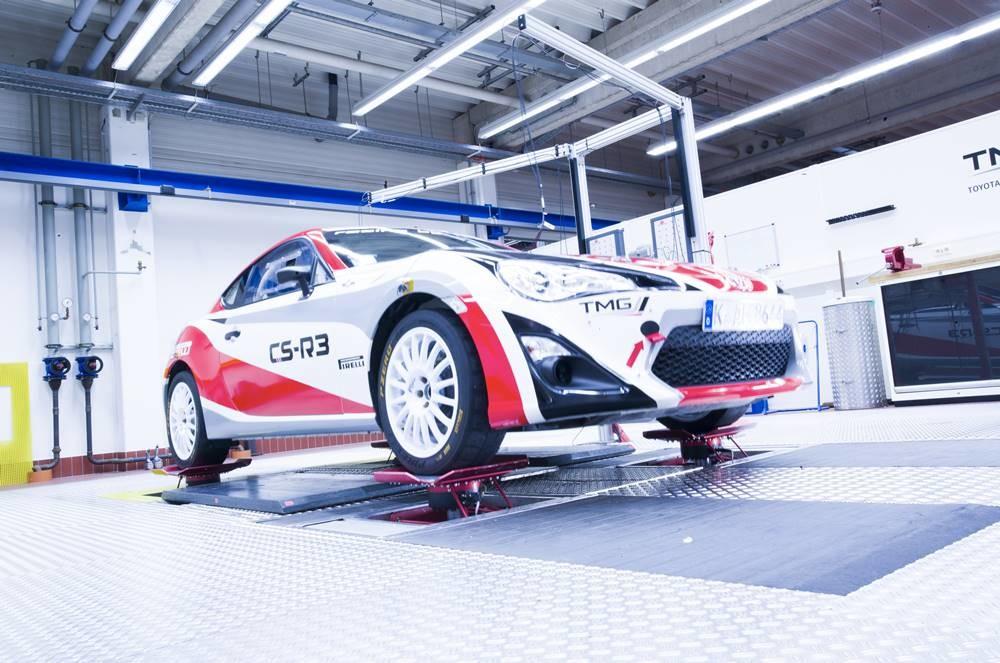 Toyota Tmg Colonia Simulador De Carretera Mts 329 4