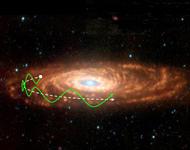 Los rayos cósmicos y las extinciones masivas