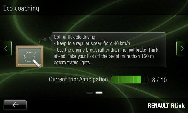 R-Link Tablet Renault