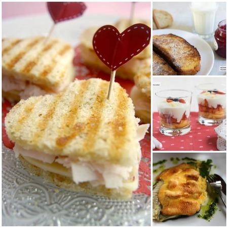 San Valentín ahorrador, menú