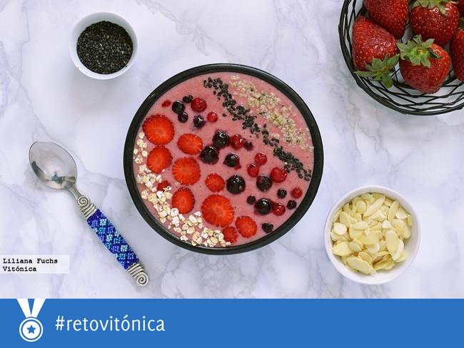 #RetoVitónica: una semana merendando de forma saludable (y siete smoothies diferentes, uno para cada día de la semana)