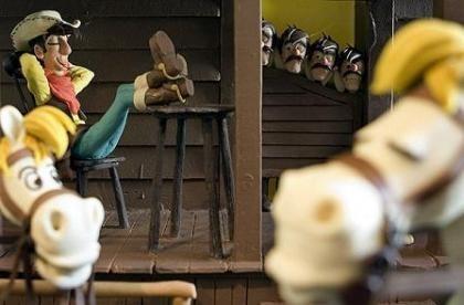 Lucky Luke se lleva el primer premio en el Concurso Internacional de Figuras de Chocolate