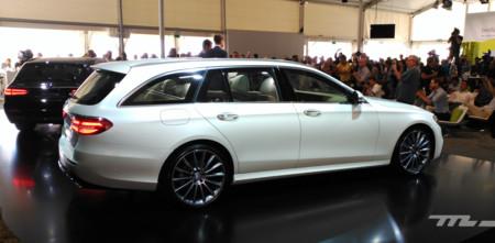 ¡Adiós, portaequipajes! El nuevo Mercedes Clase E Estate, al natural, impresiona por su espacio de carga