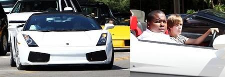 Lamborghini Gallardo Spyder de Justin Bieber