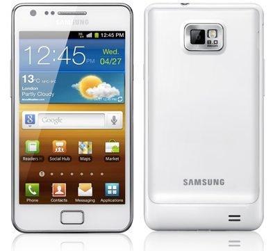 Samsung galaxy s2 blanco