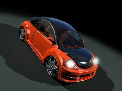 VW New Beetle por JRD Tuning