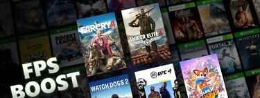 FPS Boost mejorará los juegos en Xbox Series X S sin necesidad de un parche next-gen: estos son los primeros títulos compatibles