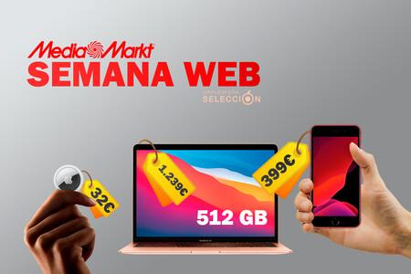 Ofertas de Apple en la Semana Web de MediaMarkt: iPhone SE a 399 euros, 12 mini por 659 euros y más