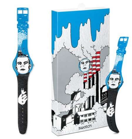 Electricity Man, reloj Swatch de Takashi Koshii