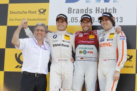 Cómoda victoria de Mike Rockenfeller en Brands Hatch