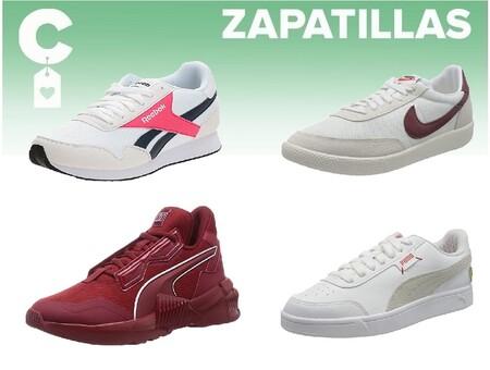 Chollos en tallas sueltas de  zapatillas Nike, New Balance o Reebok por menos de 40 euros a la venta en Amazon